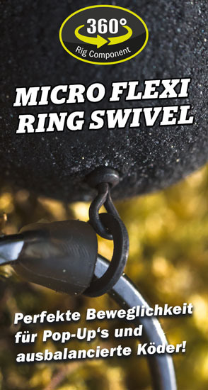 Carpleads Micro Flexi Ring Swivel